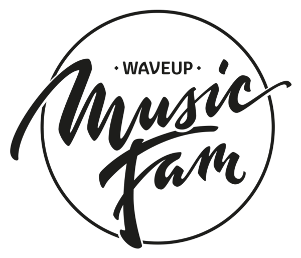 waveup music fam Logo